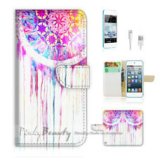 iPod Touch iTouch 5 Print Flip Wallet Case Cover! Cool Dream Catcher P0172