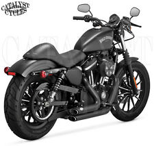 Vance and Hines Shortshots Staggered Full Exhaust for Harley Sportster 2014-16