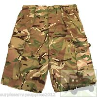 BRITISH ARMY ISSUED MTP SHORTS PCS 95 STYLE CAMO HIKING AIRSOFT CADET FISHING