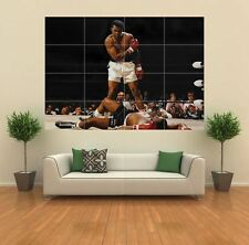MUHAMMAD ALI VS SONNY LISTON NEW GIANT ART PRINT POSTER PICTURE WALL G426