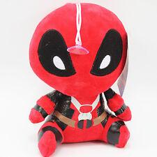 "Marvel 8"" Deadpool FUNKO MOPEEZ X-Man Wade Wilson Plush Doll Stuffed Toy&Sucker"