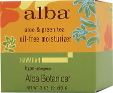 Aloe & Green Tea Oil-Free Moisturizer, Alba Botanica, 3 oz
