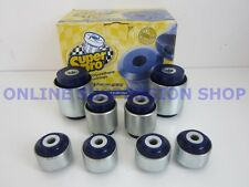Suits Audi A4 S4 RS4 95-08 B5 B6 B7 SUPER PRO Front Suspension Bush Kit SUPERPRO