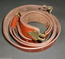 US WWII M1918 BAR Leather Sling - Reproduction
