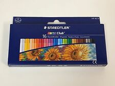 16 Color Staedtler Noris Club Oil Pastels (241 NC16) 8mm Coloring Blending