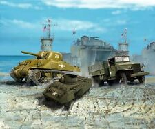 Revell 1/144 US Army Vehicles WWII # 03350