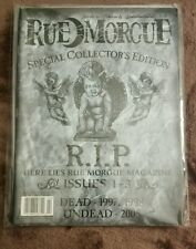 Rue morgue Magazine 2005 January February Collectors Edition issues 1-3