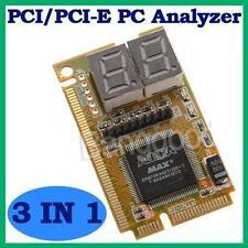 3 in1 Mini PCI / PCI-E LPC PC Analyseur Testeur Mères Card Diagnostique Réparer
