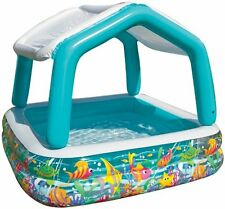 Intex Kids fun Sun Shade Pool 62-Inch by 62-inch by 48-Inch inflated