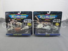 Micro Machines Space Star Wars New Hope Collections #1 ('93) & #4 ('94) Galoob
