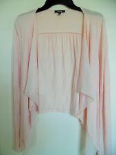Express Peach  Open front Cardigan Long Sleeve Size Small
