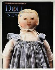Doll News Magazine UFDC Back Issue - Fall 2002 w/ Theatre de la Mode Paper Doll