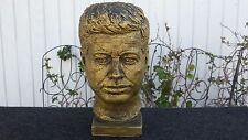 Vintage John F. Kennedy Statue Bust Signed Austin Productions 1963 E Shillaci