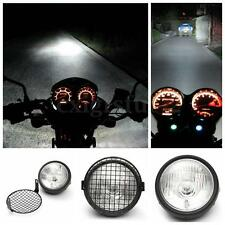 Moto Faro Anteriori Side Lampada Mount Supporto Luci per Cafe Racer Old School U
