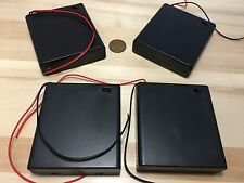 4 Pieces ON OFF 4AA Switch Battery Holder Box Case 4 x 1.5V AA Batteries B19