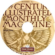 The Century Magazine {1881-1925 Fiction History Literature Advertising} on DVD