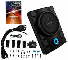 "Planet Audio P8UAW 8"" 800W Powered Low Profile Under-Seat Subwoofer w/ Remote"
