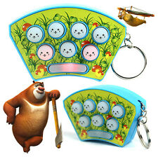 New Cute Mini Whack A Mole Whack Hamster Pocket Key Ring Game Keyrings Toy Gift