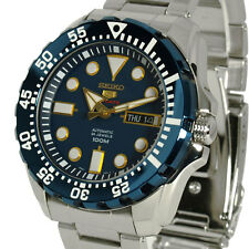 SEIKO 5 SPORTS AUTOMATIC BLUE FACE S/STEEL BRACELET SRP605J1 SRP605
