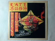 "KATE BUSH Wuthering heights 7"" ITALY FESTIVALBAR 1978 78"