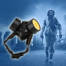 Emergency Survival Safety Respiratory Gas Mask With 2 Dual Protection Filter CF