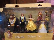 disney parks beauty and the beast lumiere clockworth deluxe playset new with box