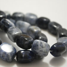 10  Sodalite Beads Nuggets 10 x 14mm Semi Precious Gemstone