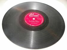 "King's Heralds It Came Upon A Midnight Clear / O Come All Ye 10"" 78 Chapel 107"