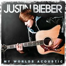 JUSTIN BIEBER - My Worlds Acoustic [CD, 2010] - NEW! - 10 tracks - Baby, Pray
