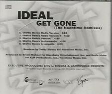 Ideal: Get Gone (The Noontime Remixes) PROMO MUSIC AUDIO CD Ghetto 5 tracks