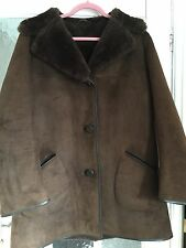 Ladies Sheepskin /shearling Coat/jacket