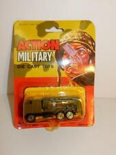 Vintage ACTION MILITARY Die cast TOY moc HONG KONG 1980S ARMY TRUCK