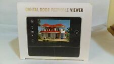 "WoSports 3.5"" Digital Door Peephole Viewer Door Bell (Display Model)"