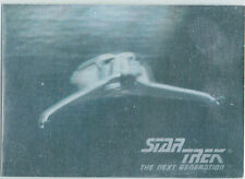 STAR TREK THE NEXT GENERATION INAUGURAL EDITION HOLOGRAM CARD 01H