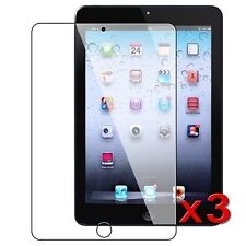 3 x PREMIUM CRYSTAL CLEAR IPAD MINI 4 SCREEN PROTECTOR