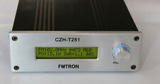25W FM Stereo Broadcast Transmitter CZE-T251 + Power +100W Mobile Antenna USA