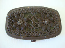 RARE Silesian Wirework Coin Purse 1860's Antique Victorian Berlin Iron