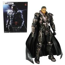 "SUPERMAN - Man of Steel 9.5"" General Zod Play Arts Kai Action Figure #NEW"