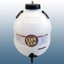 Rey Barril inferior Tap presión Barril Home Brew Cerveza C/w la inyección de gas de la PAC. Nuevo