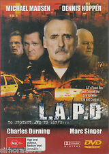 L.A.P.D Dennis Hopper / Charles Durning DVD All Zone
