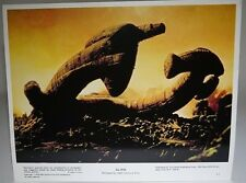 ALIEN 1979 Lobby Card US A3 (Alien Ship on Planet) Sigourney Weaver Tom Skerritt
