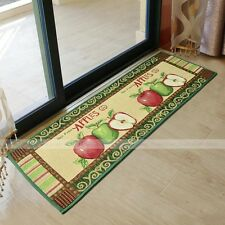 yazi Country Apples Kitchen Rug Mat Floor Carpet Thanksgiving Party Home Decor