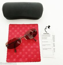 CHANEL 4002 Women's Sunglasses CC Italy with Case Cloth and Papers 03840