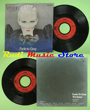 LP 45 7''VISAGE Fade to grey The steps 1980 germany POLYDOR 2095320 no cd mc dvd