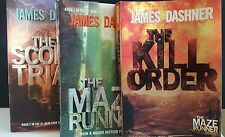 The Maze Runner Series: The Maze Runner, The Kill Order and The Scorch Trials