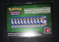 Pokemon Trading Game Online XY-Evolutions Booster Pack Code New 7 CARD LOT
