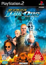 Used PS2 Psi-Ops: The Mindgate Conspiracy   Japan Import (Free Shipping)