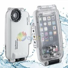 Meikon 40M 130ft Waterproof Diving Camera Case Cover For iPhone 6/6s 4.7'' White