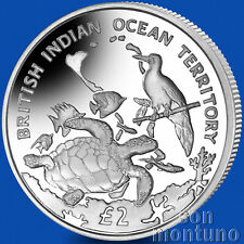 ARCHIPELAGO & WILDLIFE Sterling Silver Coin 2016 British Indian Ocean Territory