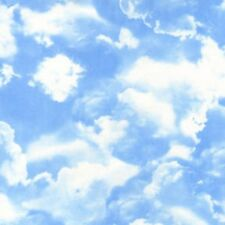 Clouds on Beautiful Blue Skies,  Along the Coast,Timeless Treasures By 1/2 yard